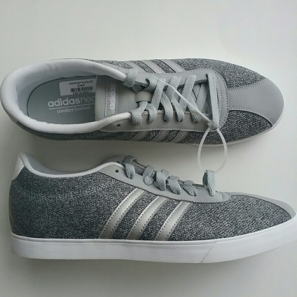 Adidas Courtset Sneakers Shoes Sz 10 Women's NEW